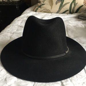 Janessa Leone black felt hat